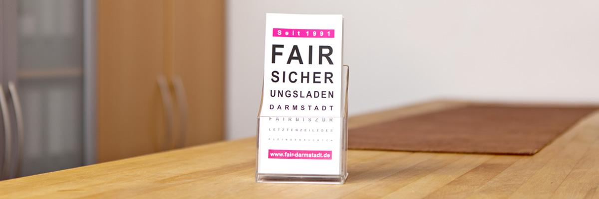 Fairsicherung Darmstadt